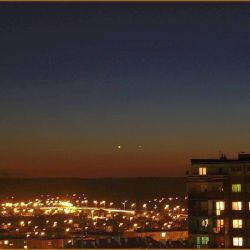 Wenus i Merkury - 13.01.2015 godz. 17:21