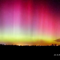 Zorza polarna - 17.03.2015 godz. 00:06