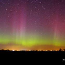 Zorza polarna - 17.03.2015 godz. 23:50