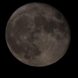 Księżyc - 28.10.2015 godz. 18:15