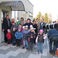 Pokaz planety Wenus w Publicznym Przedszkolu w Rozdrażewie - 17.05.2012
