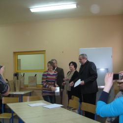 II Konkurs Wiedzy Astronomicznej - wręczenie nagród - 29.10.2012