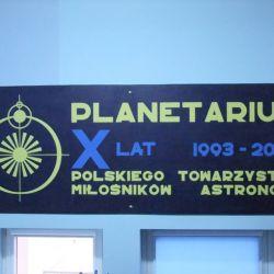 Wycieczka do Planetarium w Potarzycy - 12.12.2014