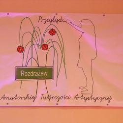 RO PTMA w VII Przeglądzie Artystycznym w Rozdrażewie - 12.10.2014