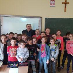 Spotkanie z uczniami IV klas ZSP w Rozdrażewie - 08.03.2017