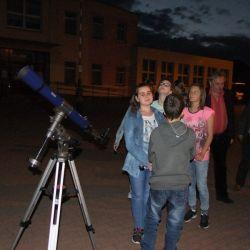 Spotkanie astronomiczne z uczniami ZSP w Rozdrażewie - 26.05.2017