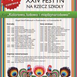 Festyn szkolny w Rozdrażewie - 04.06.2017