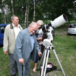 Obserwacje astronomiczne podczas spotkania seniorów 'Pod Grzybkiem' - 13.06.2017