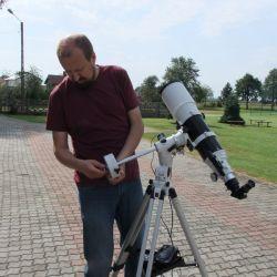 Sprawozdanie z warsztatów astronomicznych w Nowej Wsi - 11.08.2017