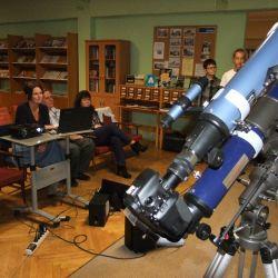 Wieczór z astronomią w Bibliotece - 18.10.2017