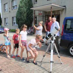 VIII warsztaty astronomiczne w Nowej Wsi - 03.08.2018