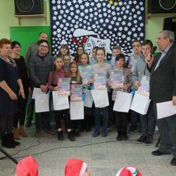 VIII Konkurs astronomiczny - rozdanie nagród - 06.12.2018