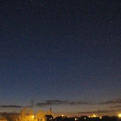 Orion i Kasjopea - 07.04.2013