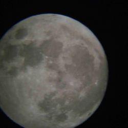Księżyc - 16.12.2013 godz. 18:26