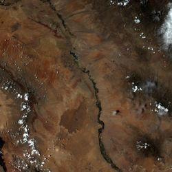 Zdjęcie wykonane przez MSS z orbity nr 1591