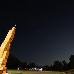 Przelot Międzynarodowej Stacji Kosmicznej (MSS) - 05.08.2014 r. 22:40-22:45